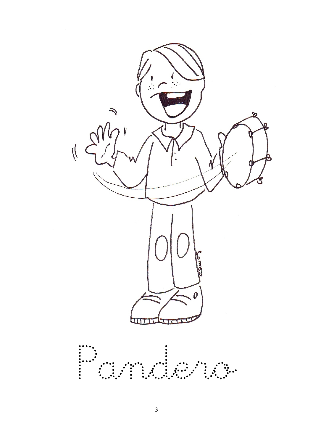 maracas coloring pages kids - photo#34
